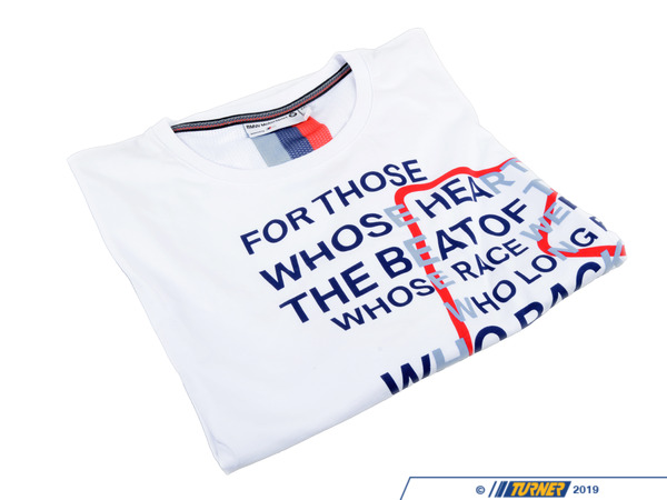 T#210853 - 80142285819 - Genuine BMW Motorsport T-Shirt For W - Genuine BMW -