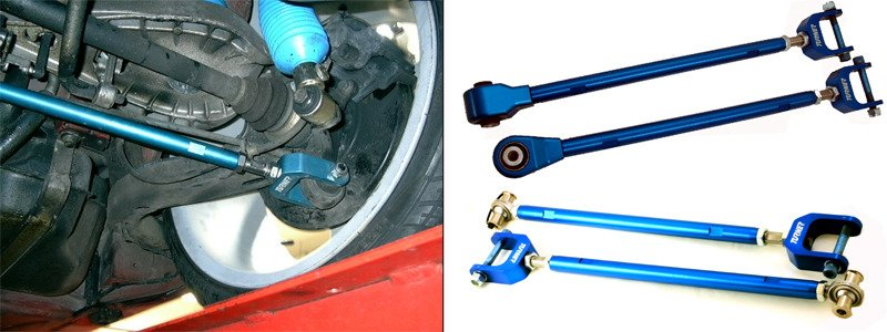 Tsu9940x Turner Motorsport Street Track Rear Adjustable Camber Arms Pair E36 E46 E85 Turner Motorsport
