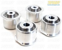 Rear Subframe Bushings/Mount Set - Turner Solid Aluminum - E46/E46 M3, Z4/Z4 M
