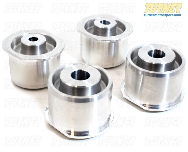 T#581 - TDR4680014 - Rear Subframe Bushings/Mount Set - Turner Solid Aluminum - E46/E46 M3, Z4/Z4 M - Turner Motorsport - BMW