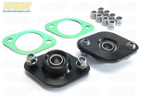 T#2466 - TSU9906SM1 - Rear Shock Mounts (RSM) - Turner Motorsport Race Monoball - E30, E36, E46, Z3, Z4 (Pair) - Turner Motorsport - BMW