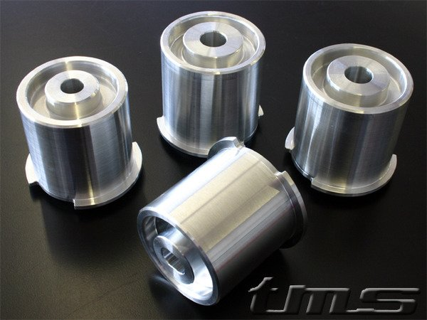 T#340737 - TDR3680002 - Rear Subframe Bushings/Mount Set - Turner Solid Race - E36, E36 M3 - Turner Motorsport - BMW
