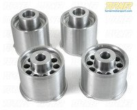 Rear Subframe Bushings/Mount Set - Turner Solid Aluminum - E82 1M, E9X M3