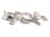 E46 M3 Borla Complete Exhaust - Cat-Back Section 1, Section 2, Mufflers (Round Tips)