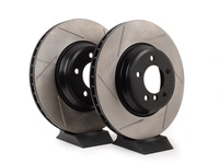 Gas-Slotted Brake Rotors (Pair) - Front - E9x 335i / 335xi / 335d