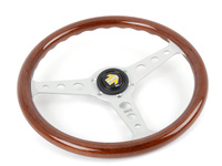 MOMO Indy Steering Wheel - Silver - 350mm