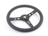 T#1040 - PR035BK2Black - MOMO Prototipo Steering Wheel - Black - 350mm - MOMO - BMW MINI