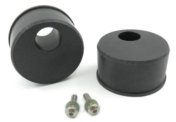 T#1457 - TSU3080D30 - Front Control Arm Bushings (FCAB) - Offset Delrin Race - E30, E36, Z3 (Pair) - Turner Motorsport -