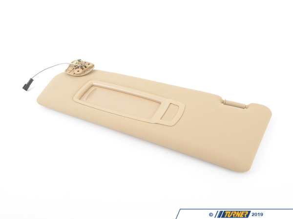 T#86770 - 51169113737 - Genuine BMW Left Sun Visor Make-up Lamp - 51169113737 - Savannabeige - Genuine BMW -
