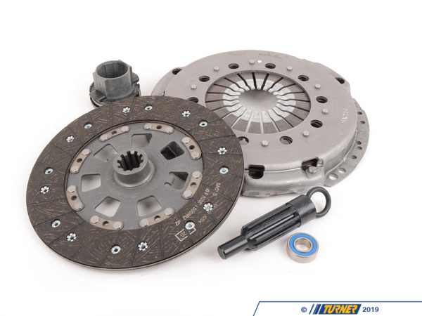 T#3777 - 21212227536 - Clutch Kit - E36 M3 1995 - The best clutch that we have found for your 1995 M3 is the same as what's in your car. Manufactured in Germany and includes a clutch disc, pressure plate, and throw-out bearing.Optional items:Exhaust Gaskets & Hardware:18301716888 - exhaust gasket x 218301737774 - nuts x 6 Transmission Seals:23121282394 - shift shaft seal 23111224799 - output seal23211224820 - input seal Additional Clutch Parts:21511223328 - clutch pivot pin 11211720310 - pilot bearing07119906045 - pressure plate bolts x 6This item fits the following BMWs:1995  E36 BMW M3 with S50 engine - Sachs -