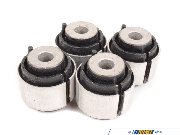 Genuine BMW Motorsport Rear Toe Arm Bushing - Inner + Outer - Group N Race Rubber - E82, E9X E9X-GPN-TOE