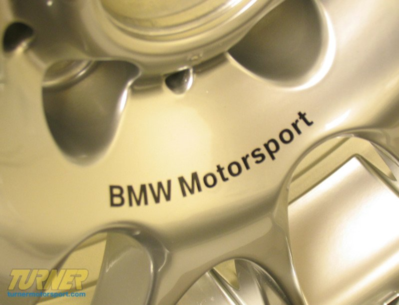 EsiWHEELS EX Si BMW Motorsport Radial Spoke Wheels - Bmw decals for wheels