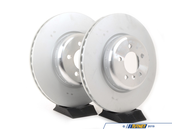 Perfit Liner Front Drilled and Slotted Pair Disc Brake Rotor for BMW 2-Series 3-Series 4-Series X1