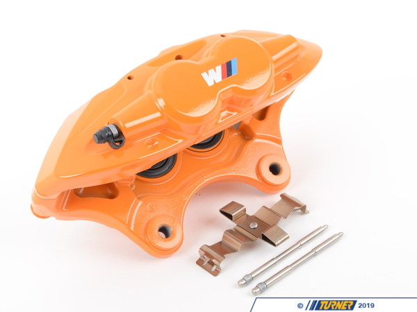 T#61493 - 34106855479 - Genuine BMW Brake Caliper Housing, Orang - 34106855479 - Genuine BMW -