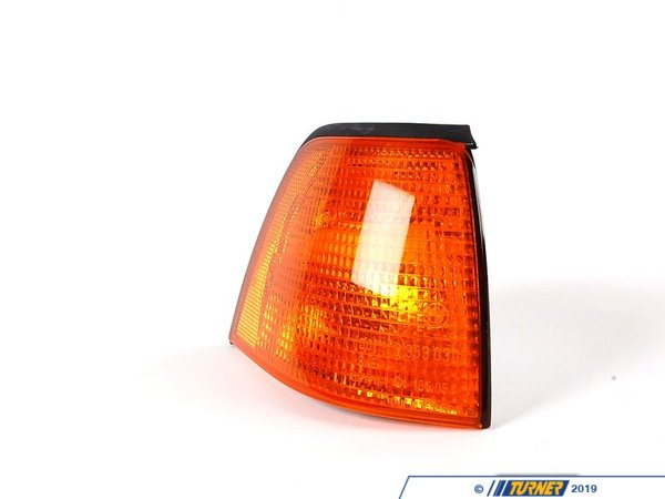 Genuine BMW Right Front Turn Signal - Amber - E36 318i, 325i, 328i M3 - Sedan 63138353280