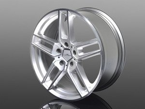 "Typ VIII BiColor Silver Wheel 20""x8.5"" 5x120 ET43 - Priced Each"