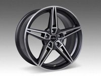 Typ VIII BiColor Black Wheel 18