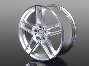 "Typ VIII BiColor Silver Wheel 18""x8.5"" 5x120 ET43 - Priced Each"