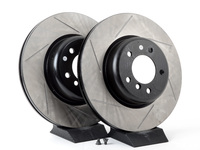 Gas-Slotted Brake Rotors (Pair) - Front - E82 135i