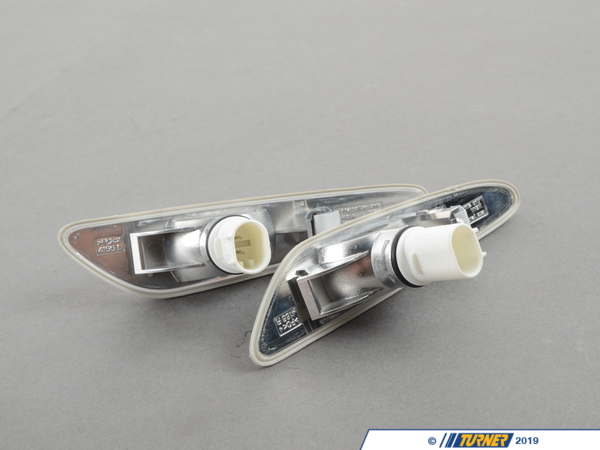 T#1138 - TMS1138 - Side Markers (Pair) - Euro Clear - E46 Sedan 2002-2005 - Turner Motorsport - BMW