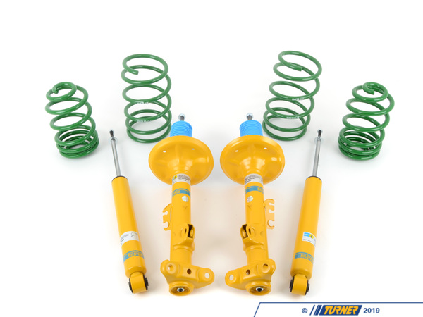T#4448 - TMS4448 - E36 323iC/325iC/328iC Conv Bilstein/H&R Sport Suspension Package - Turner Motorsport - BMW