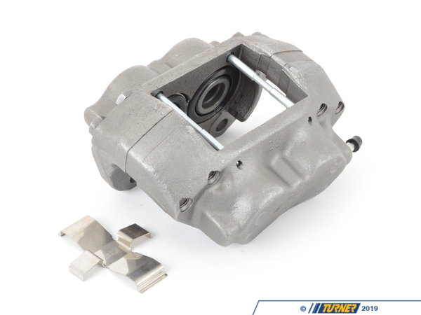 T#5711 - 34111151481R - Brake Caliper - Rebuilt - Front Left - E23 733i 735i - 1982-1987 - Our rebuilt calipers start off with an original BMW caliper that is fully disassembled thoroughly inspected and carefully processed. All threads are chased, all groves are meticulously cleaned and checked. Pistons are replaced if any dents or scratches are found. All rubber components and hardware are replaced with new OE quality parts. The units are then air pressure tested and submitted to a thorough final inspection.Price includes $40 core charge - Centric - BMW