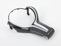 T#389056 - 32302345203 - F8X M3/M4 M Performance Gloss Carbon Fiber Steering Wheel Trim - Genuine BMW - BMW