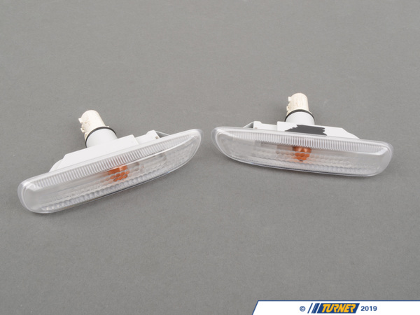 T#1058 - TMS1058 - Side Markers (Pair) - Euro Clear - E46 Coupe, Convertible - FER - BMW