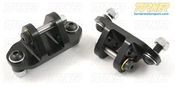 T#340470 - TSU9006RU2 - Rear Shock Mounts (RSM) - (Pair) - Lower - Race Aluminum - E82, E9X - Turner Motorsport - BMW