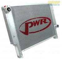 E36 PWR 42mm Aluminum Radiator Upgrade