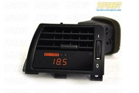 P3Cars Vent Integrated Data Display and Boost Gauge - E46 3 series 1999-2006