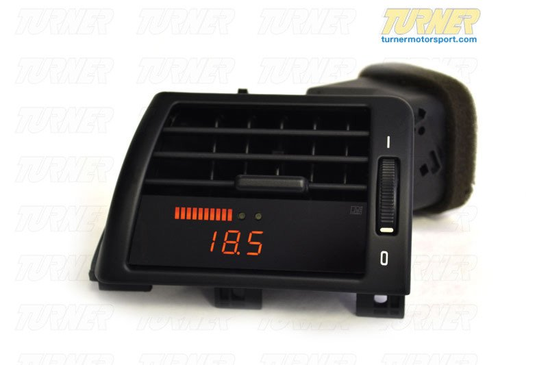 T#340367 - P3-E46-GAUGE - P3Cars Vent Integrated Data Display and Boost Gauge - E46 3 series 1999-2006 - P3 Gauges - BMW