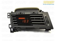 P3Cars Vent Integrated Data Display and Boost Gauge - E60 5 series 2008-2010