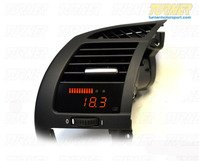 P3Cars Vent Integrated Data Display and Boost Gauge - E85 E86 Z4, Z4M