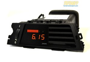 P3Cars Vent Integrated Data Display and Boost Gauge - E9X 328i, 335i, M3 2008-2013