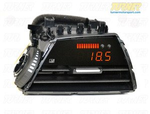P3Cars Vent Integrated Data Display and Boost Gauge - F22 M235i, 228i - F20 M135i