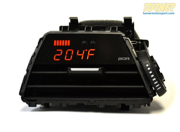 T#340380 - P3-F30-GAUGE-X - P3Cars Vent Integrated Data Display and Boost Gauge - F30 328i, 335i, F32 428i 435i - P3 Gauges - BMW