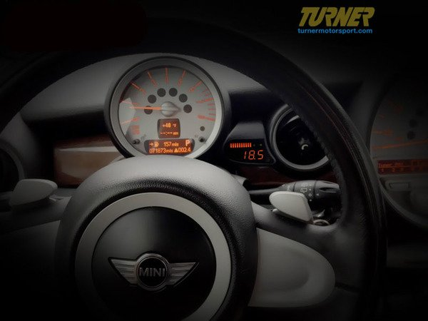 T#340382 - P3-R56-GAUGE - P3Cars Vent Integrated Data Display and Boost Gauge - MINI R56 R57 R58 R59 - P3 Gauges - MINI