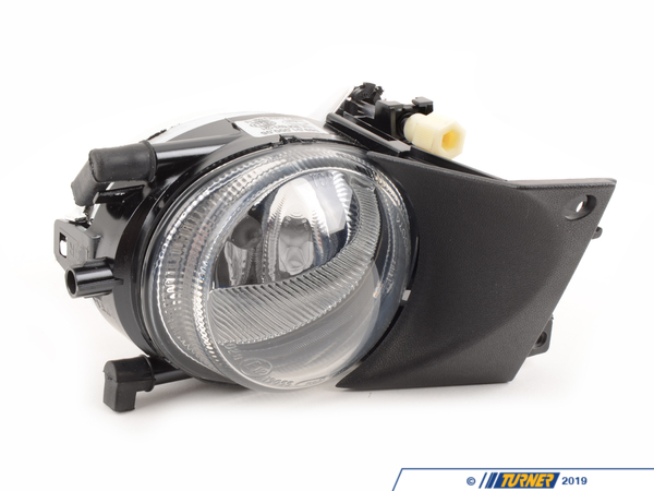 T#4590 - 63176900222 - OEM Hella Fog Light - Right -- E39 2001-2003 5 Series - This is a OEM replacement right (passenger side) fog light for 2001-2002-2003 E39 5 series. Has your fog light cracked or filled with moisture? Replace your fog light with this high quality Original Equipment Manufacturer fog light. Made to exceptionally high standards, OEM Hella lighting parts are the best available for their price.Hella is a premium manufacturer that supplies automotive parts to numerous car brands across the world. Everything from electrical to mechanical genuine parts have been made and supplied directly to BMW before the vehicles ever leave the production floor. Their high quality, long lasting parts have made them a trusted brand chosen to help keep your BMW on the road for many years to come.As a leading source of high performance BMW parts and accessories since 1993, we at Turner Motorsport are honored to be the go-to supplier for tens of thousands of enthusiasts the world over. With over two decades of parts, service, and racing experience under our belt, we provide only quality performance and replacement parts. All of our performance parts are those we would (and do!) install and run on our own cars, as well as replacement parts that are Genuine BMW or from OEM manufacturers. We only offer parts we know you can trust to perform!This item fits the following BMWs:2001-2003  E39 BMW 525i 528i 530i 540i - Hella - BMW