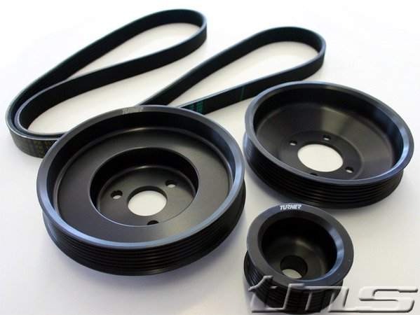 T#340393 - PPK-E39-M52TU - Turner Motorsport Power Pulley Kit - E39 528i 99-00 - Turner Motorsport - BMW