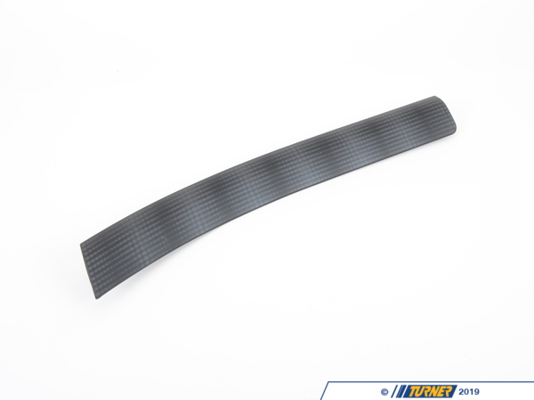 T#107310 - 51457046966 - Genuine BMW Decorative Strip, Dashboard - 51457046966 - Sieblack Grau - Genuine BMW -