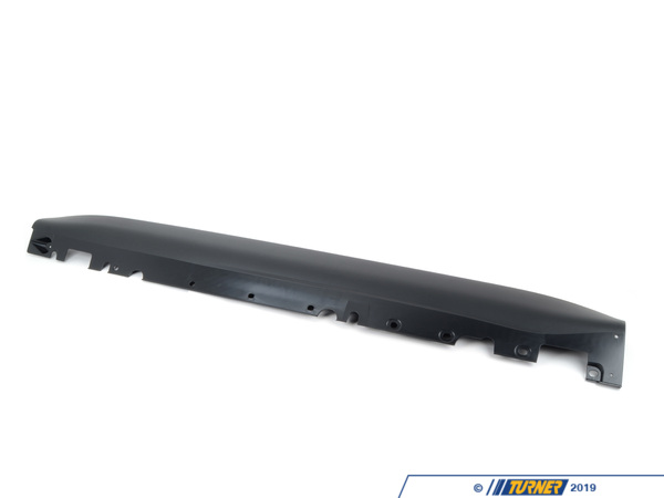 T#119868 - 51777163555 - Genuine BMW Left Door Sill Cover Schwarz - 51777163555 - E70 X5 - Genuine BMW -