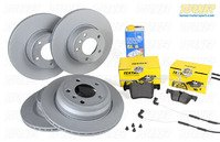 Complete Front & Rear Brake Package - F31 328i/dX/iX M Sport, F34 328i/iX GT M Sport, F33 428i/iX M Sport (Option P337A)