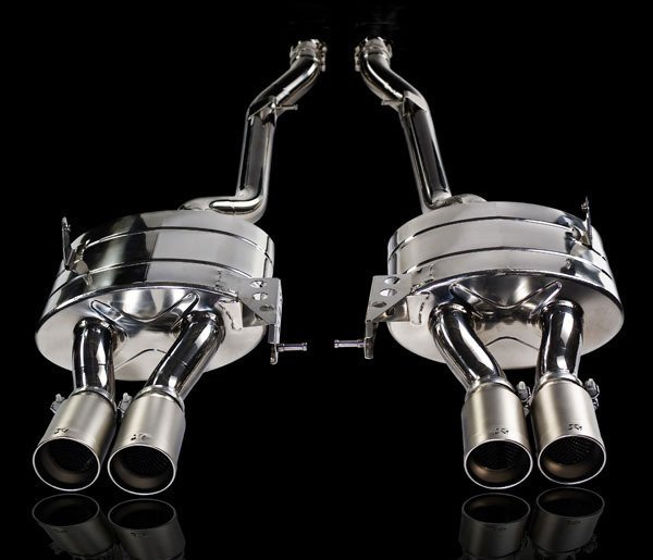 T#340333 - TMS164 - Akrapovic Slip-On Titanium Exhaust System - 2008+ E92/E93 M3 - Akrapovic - BMW