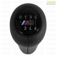 Manual BMW Shift Knob - M Logo Weighted Anatomic - 5 or 6 Speed Pattern