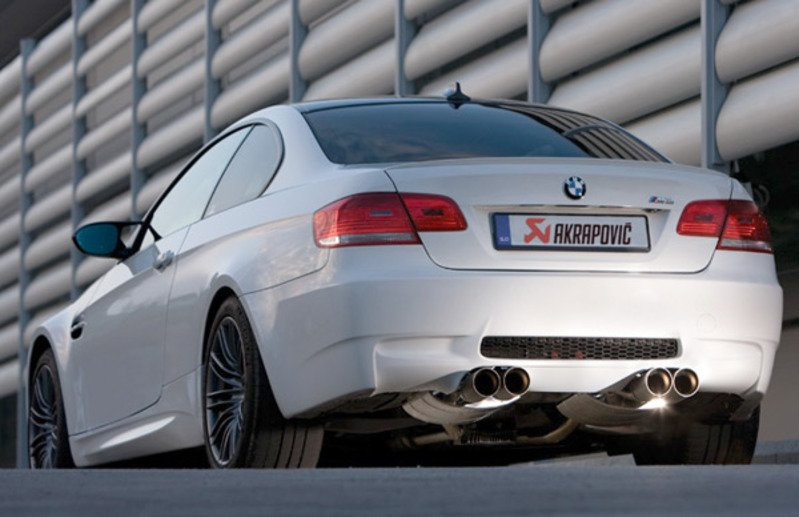 Tms2433 Akrapovic Evolution Titanium Exhaust System E92 M3 Turner Motorsport