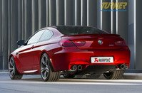 T#340345 - TMS24988 - Akrapovic Evolution Titanium Exhaust System - F12 M6 - Akrapovic - BMW