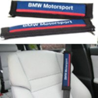 BMW Motorsport Seat Belt Shoulder Pad Set