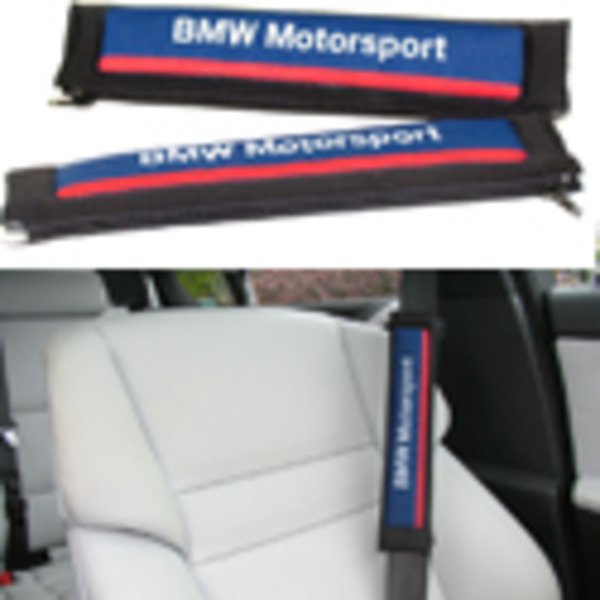 T#340352 - MSBELT50MM - BMW Motorsport Seat Belt Shoulder Pad Set - Genuine BMW - BMW