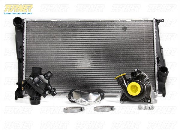 T#340262 - TMS214374 - E82 135i, E9X 335i 6MT Cooling Overhaul Package - Packaged by Turner - BMW